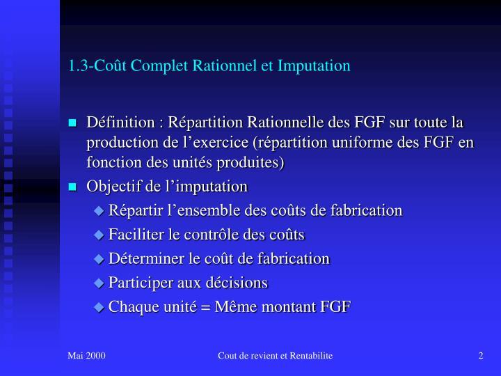 1 3 co t complet rationnel et imputation1