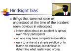 hindsight bias26
