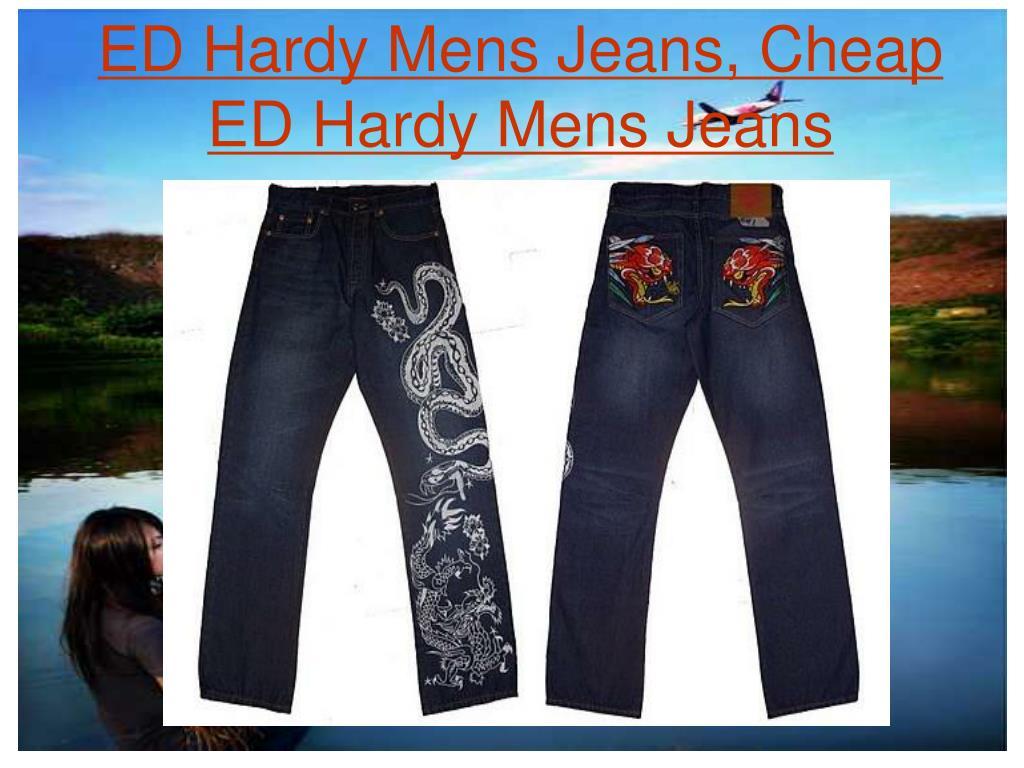 ed hardy mens jeans cheap ed hardy mens jeans l.