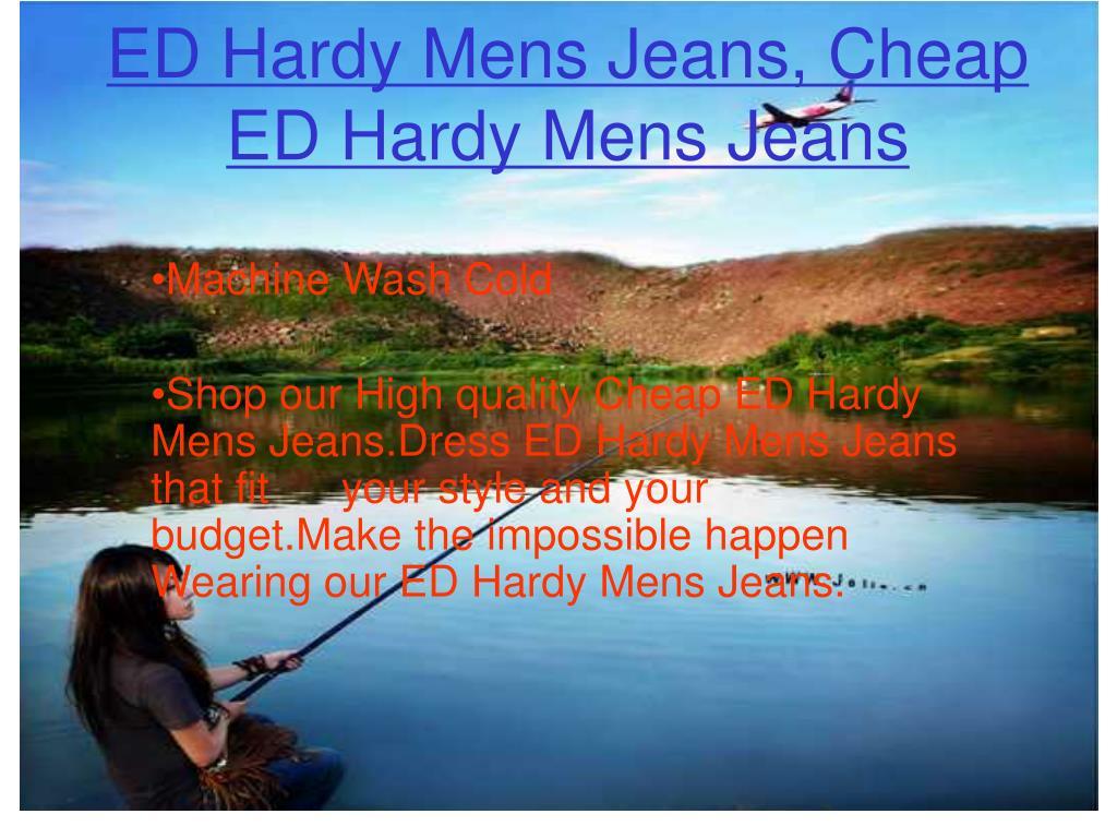 ED Hardy Mens Jeans, Cheap ED Hardy Mens Jeans