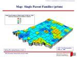 map single parent families prism