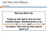 just like josh gibson thursday114