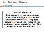 just like josh gibson wednesday87