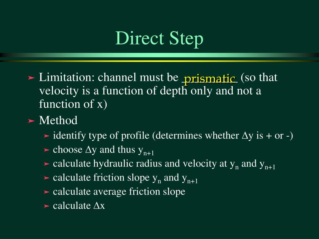 Direct Step
