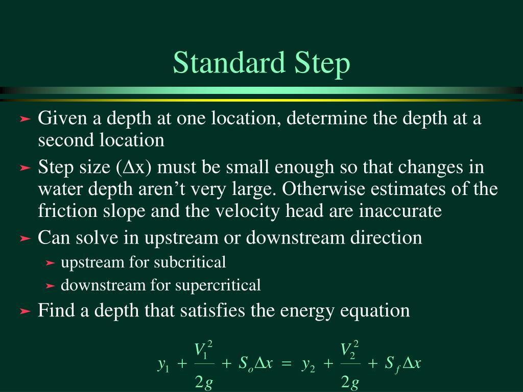 Standard Step