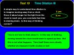 test 19 time dilation iii39