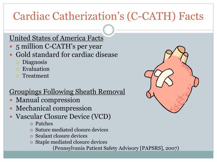 Cardiac catherization s c cath facts