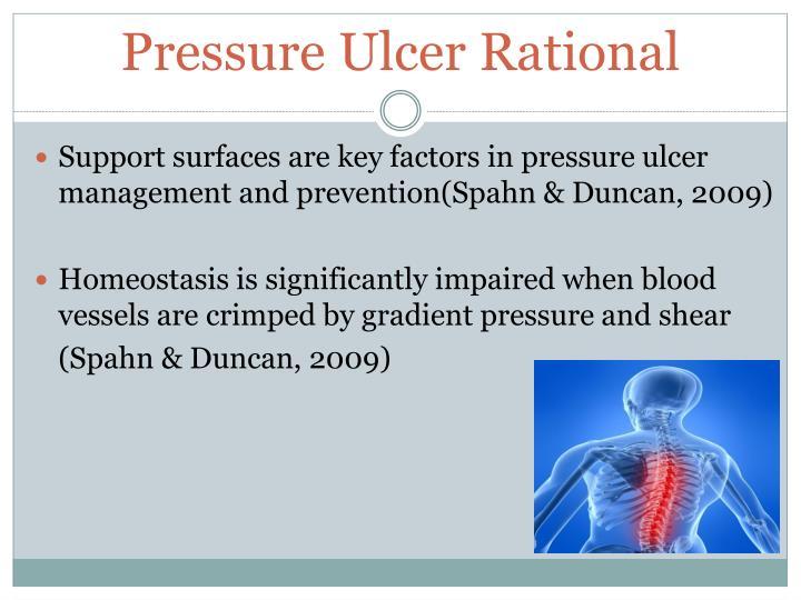 Pressure Ulcer Rational