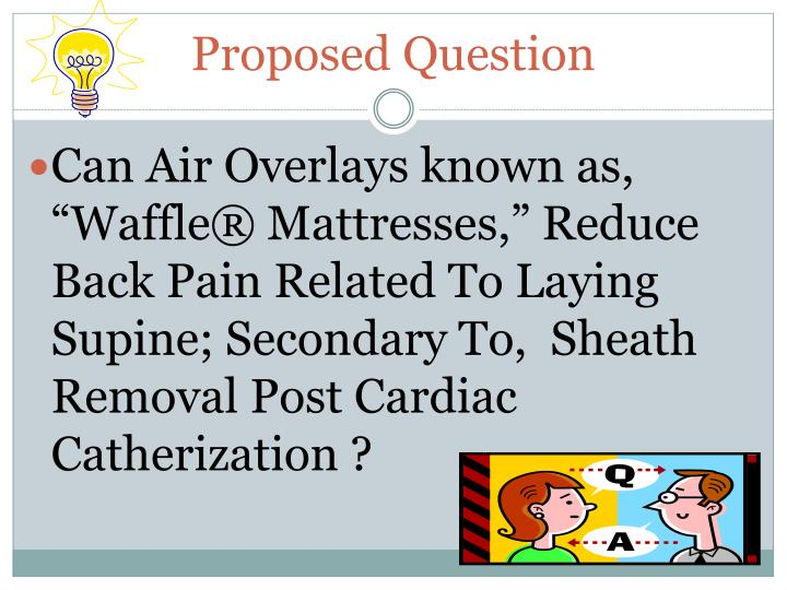Proposed Question