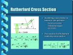 rutherford cross section