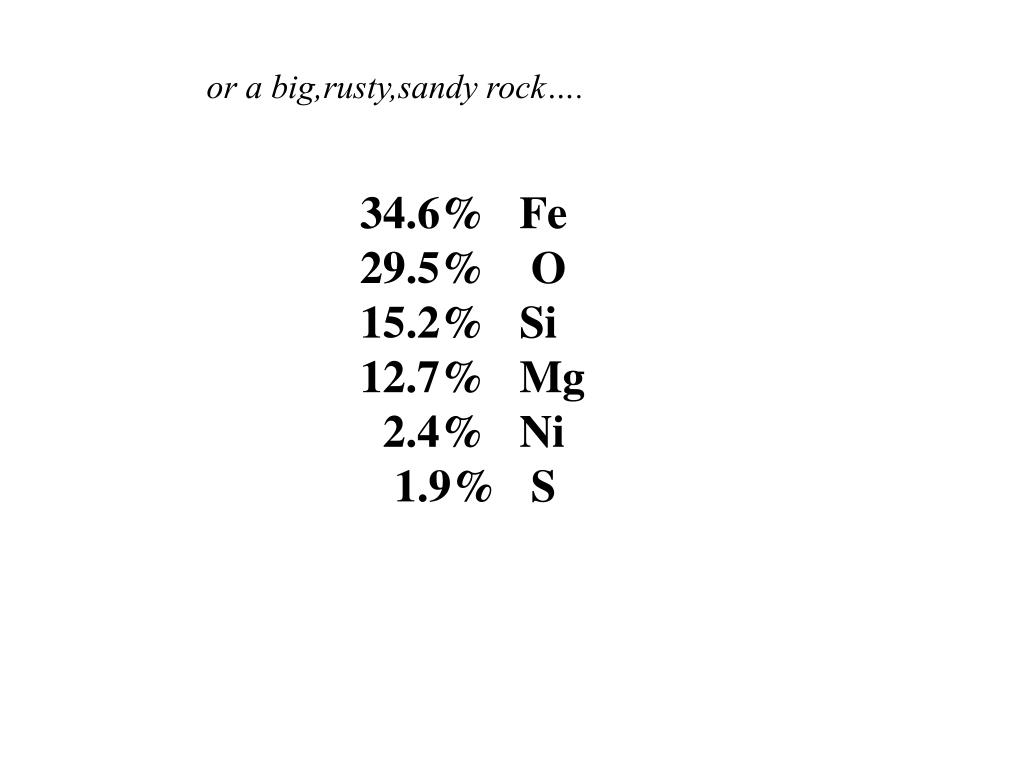 or a big,rusty,sandy rock….