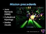 mission precedents9