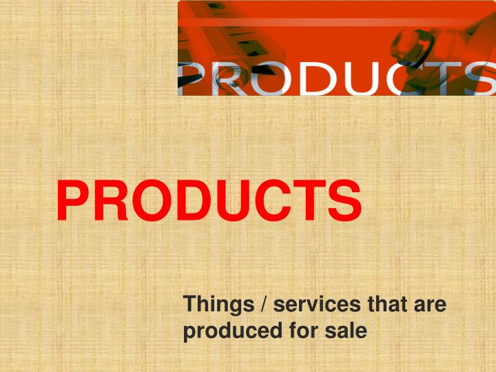 products n.