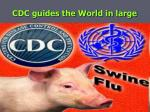 cdc guides the world in large