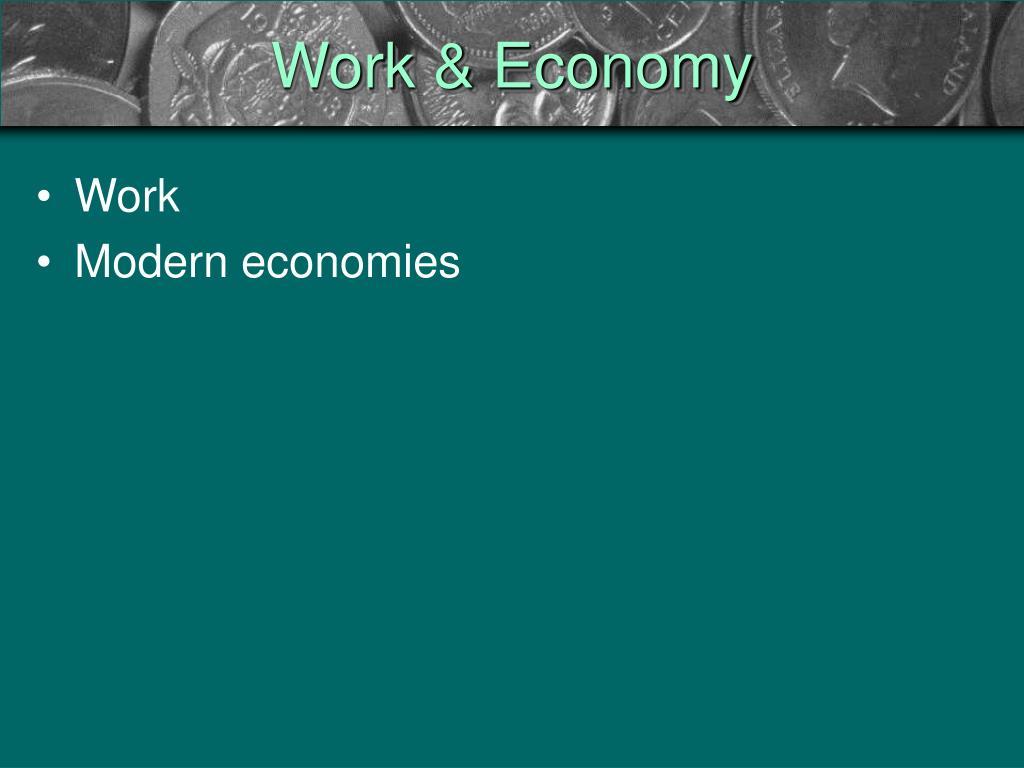 work economy l.