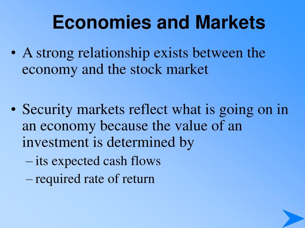economies and markets l.