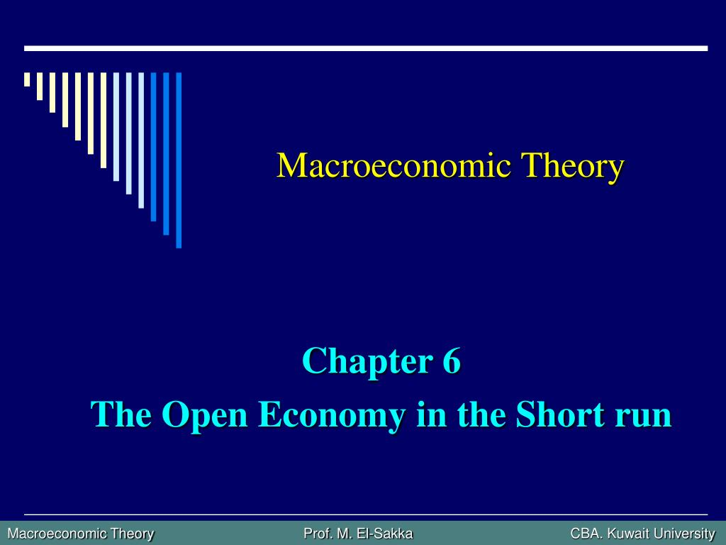 macroeconomic theory l.