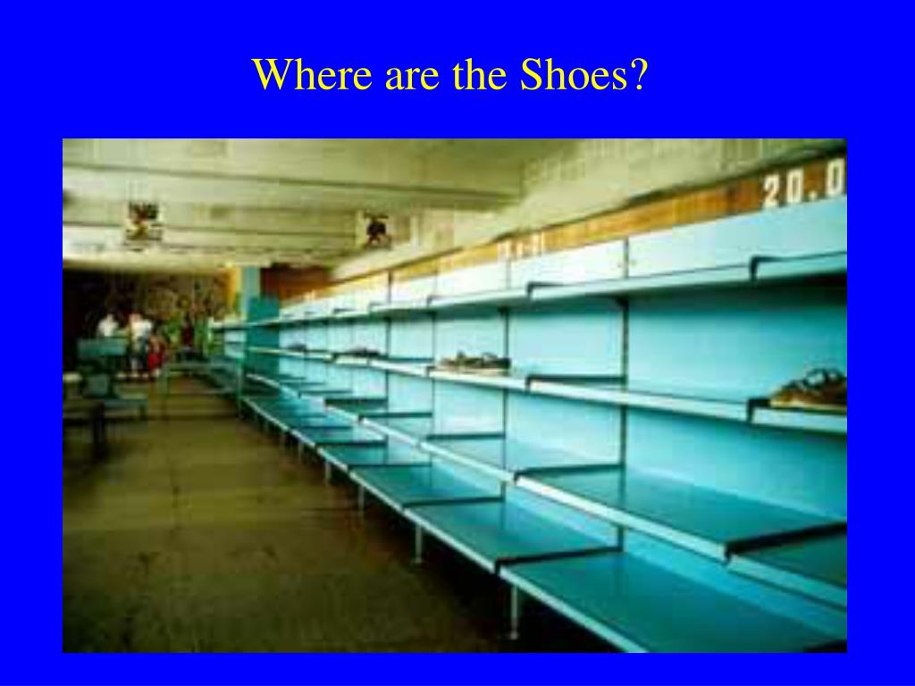 Where are the Shoes?