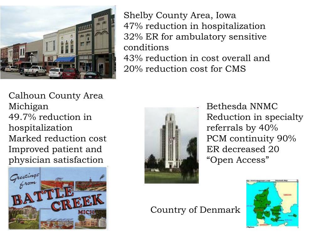 Shelby County Area, Iowa