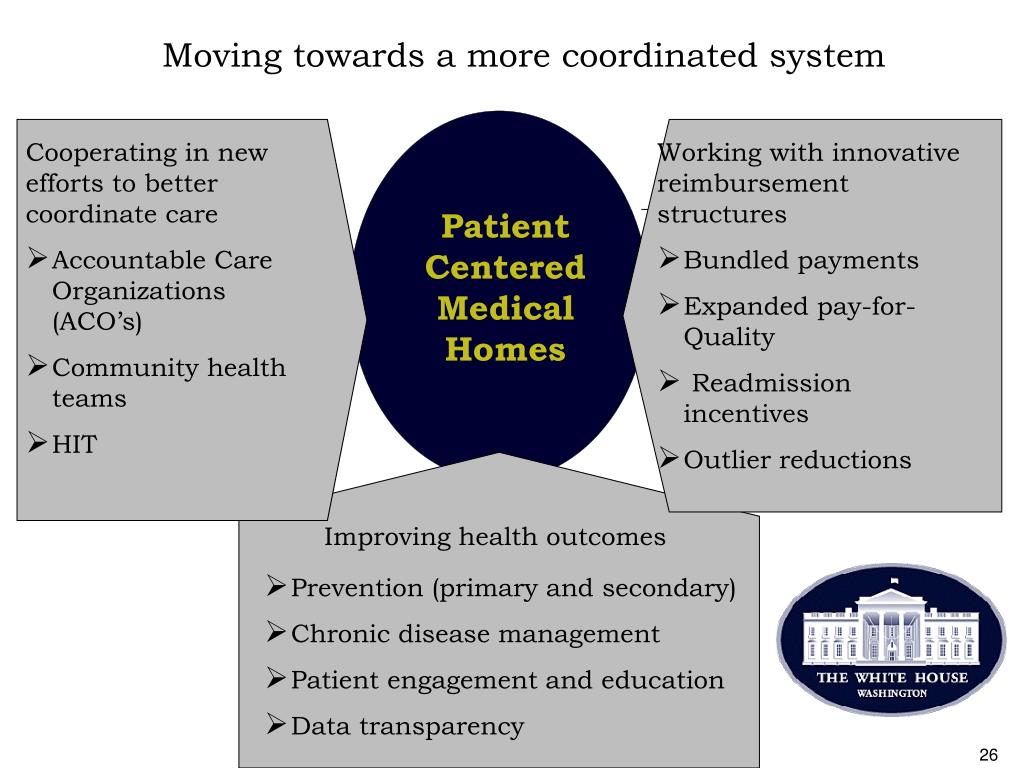 Moving towards a more coordinated system