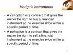 hedge s instruments13