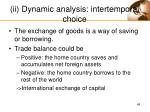 ii dynamic analysis intertemporal choice