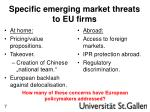 specific emerging market threats to eu firms