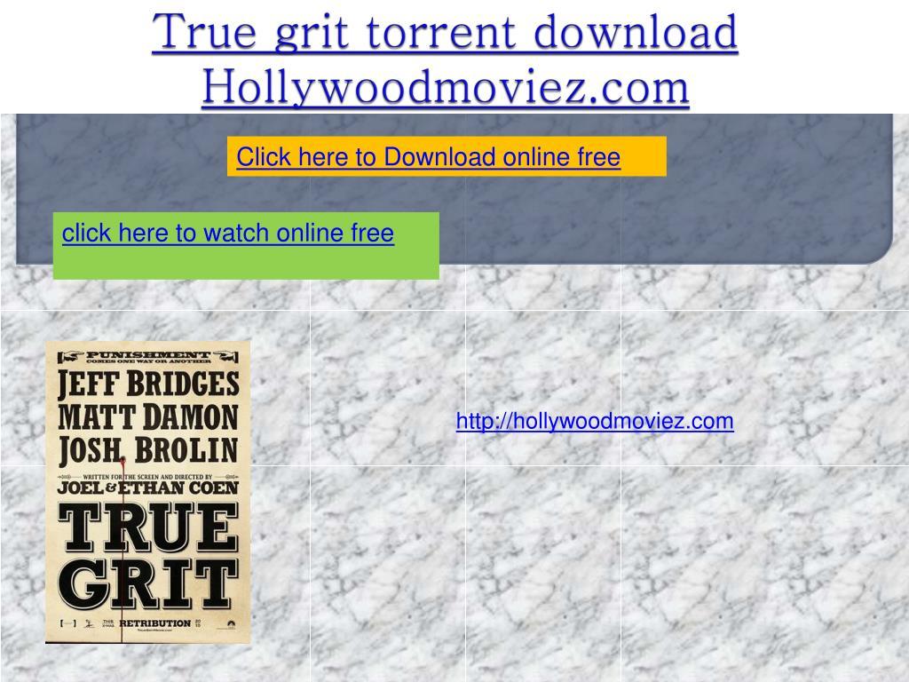 true grit torrent download hollywoodmoviez com l.