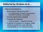 editorial by groban et al21
