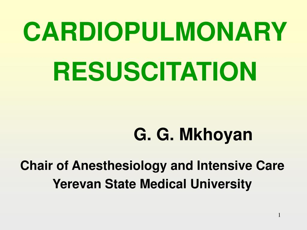 cardiopulmonary resuscitation l.