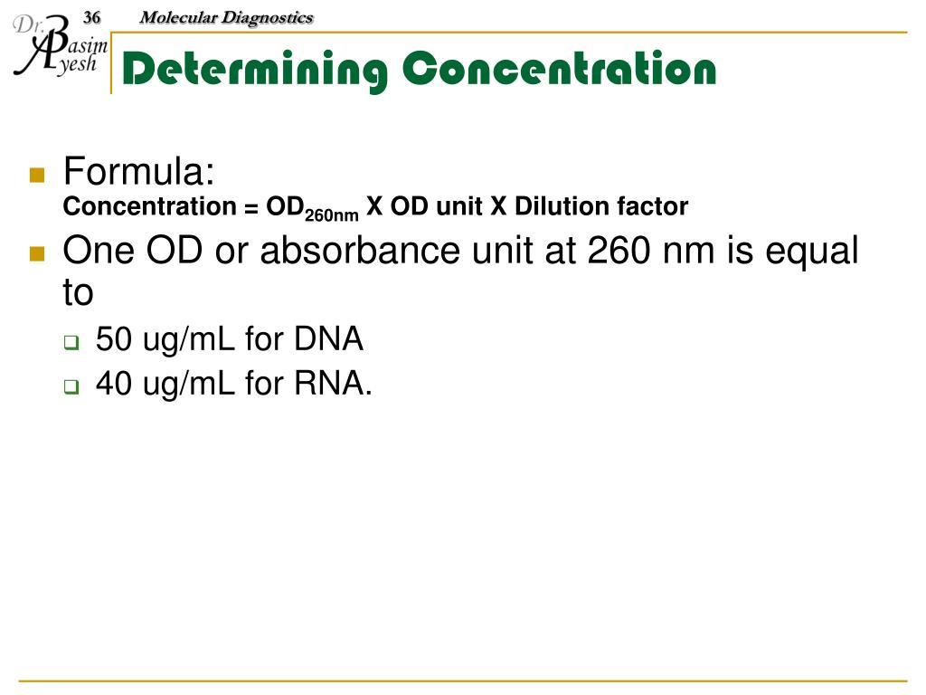 PPT - Molecular Diagnostics PowerPoint Presentation - ID:483018