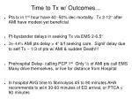 time to tx w outcomes51