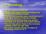 b breathing