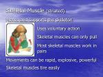 skeletal muscle striated9