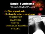 eagle syndrome elongated styloid process