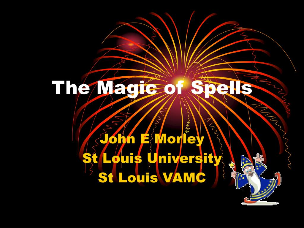 the magic of spells l.