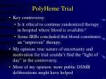 polyheme trial22
