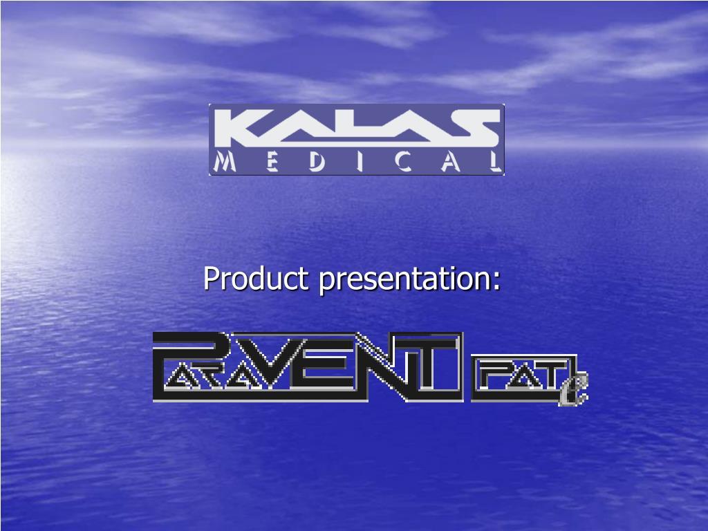 product presentation l.