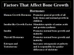 factors that affect bone growth3