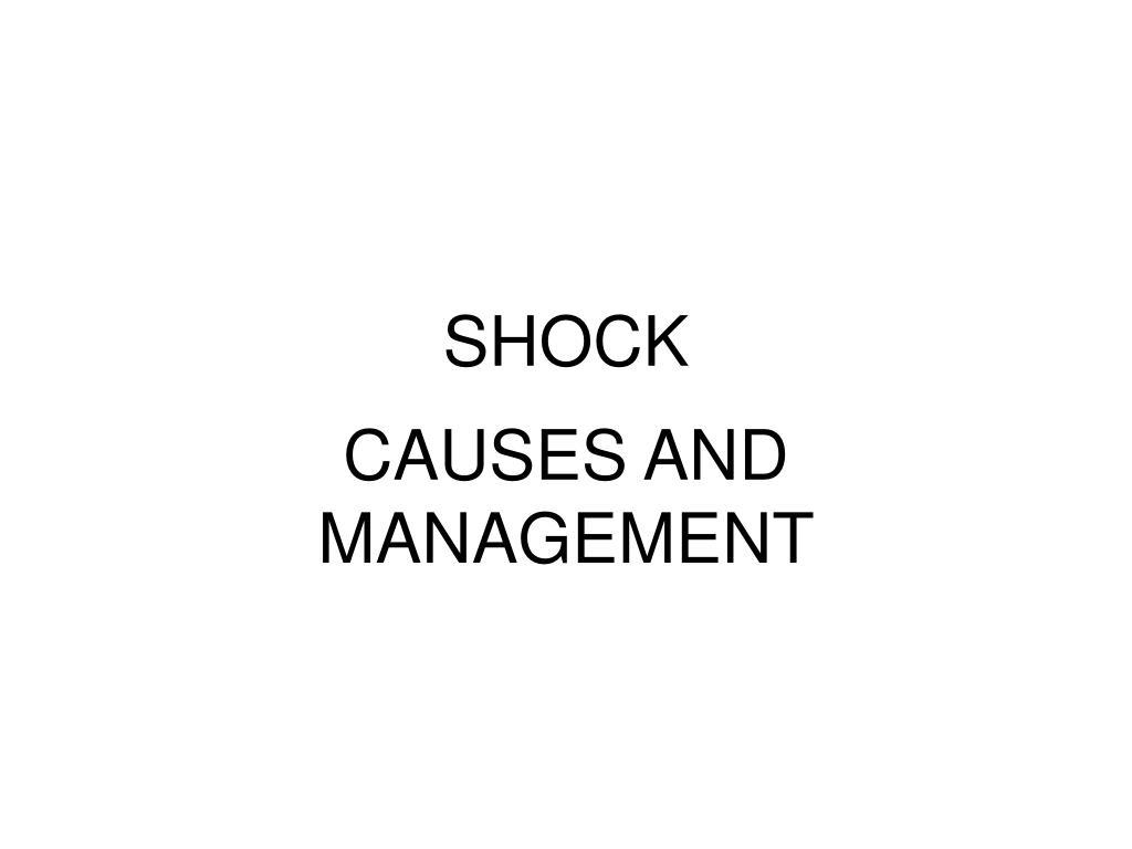 shock l.