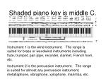 shaded piano key is middle c