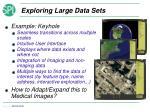 exploring large data sets