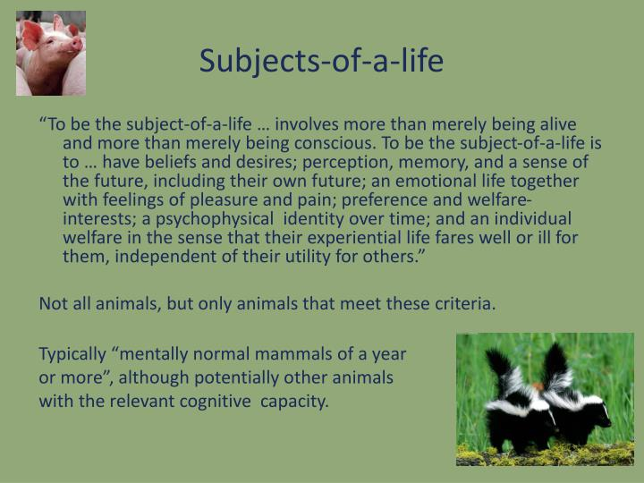 Subjects-of-a-life