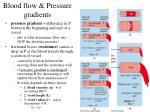 blood flow pressure gradients8