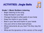 activities jingle bells