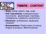 timbre content30