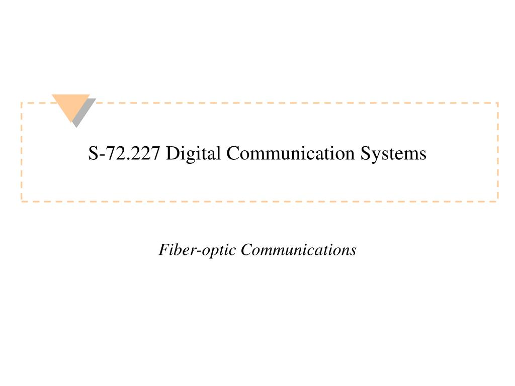 s 72 227 digital communication systems l.