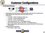 customer configurations10