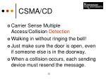 csma cd