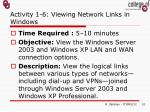 activity 1 6 viewing network links in windows